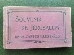 De 24 Cartes Illustées  Souvenir De Jérusalem. - Palestine