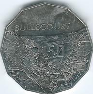 Australia - Elizabeth II - 2017 - 50 Cents - Australians At War - Bullencourt - Monnaie Décimale (1966-...)
