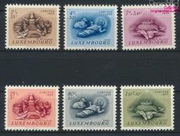 Luxemburg 541-546 (kompl.Ausg.) Postfrisch 1955 Brauchtum (9256332 - Luxemburg