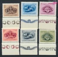 Luxemburg 541-546 (kompl.Ausg.) Postfrisch 1955 Brauchtum (9256335 - Luxemburg