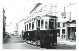 68 - MULHOUSE - TRAMWAY - M. 249 ( SACM 1926) - PHOTO 9 X 14 Cm. - Mulhouse