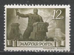 Hungary 1945. Scott #708 (M) ''Reconstruction'' * - Hungría