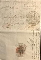 1813. SENIGALLIA PER MORRO - Italy
