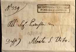 1811 ANCONA PER M.SAN VITO - Italy