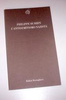 Ebraica - Burrin - L'antisemitismo Nazista - 1^ Ed. 2004 - Livres, BD, Revues
