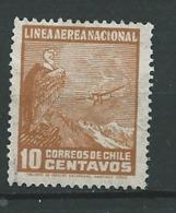 Chili  - Aérien    -  Yvert N°  24 Oblitere   -  Po 60541 - Chile
