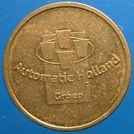 KB026A-2 - AUTOMATIC HOLLAND GROEP  - Dordrecht - B 22.0mm - Koffie Machine Penning - Coffee Machine Token - Firma's