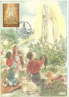 POSTMARKET  PORTUGAL 1967  FATIMA - Cristianismo