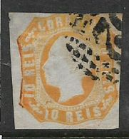 Portugal, 1862, 10 R,  Used - Used Stamps