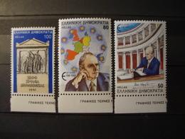 GREECE:1991.ESTABLISHMENT OF DEMOCRACY,GREECE'S ACCESSION INTO E.E.C.HELLAS.1892,1895/1896,COMPLETE MNH SETS. - Griechenland