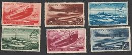 Spagna 1938 - Correo Submarino - Edifil S.775/780 Mnh - 1931-50 Nuevos & Fijasellos