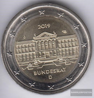 FRD (FR.Germany) 2019 J Stgl./unzirkuliert Reprint: 6 Million. Stgl./unzirkuliert 2019 2 Euro 70 Years Federal - Germany