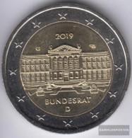 FRD (FR.Germany) 2019 G Stgl./unzirkuliert Reprint: 6 Million. Stgl./unzirkuliert 2019 2 Euro 70 Years Federal - Germany