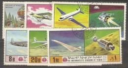 Yemen (Kingdom)  - 1970.History Of Flight And Space CTO - Yemen