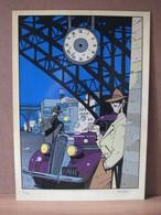 BERTHET - FOND D'HORLOGE (HEADS & LEES - LIEGE ) N°7/60 & SIGNE - Livres, BD, Revues