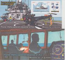 Bloc Souvenir 55 Navire Jeanne D'Arc Neuf Avec Carton - Foglietti Commemorativi