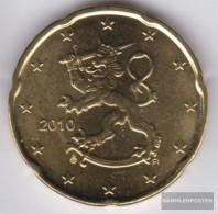 Finland FIN 5 2010 Stgl./unzirkuliert 2010 Kursmünze 20 Cent - Finland