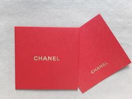 CHANEL ~~ Carte + Enveloppe    11 × 11 Cm!! - Modern (from 1961)