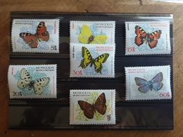 MONGOLIA - Serie Farfalle 1963 Nuovi ** + Spese Postali - Mongolia