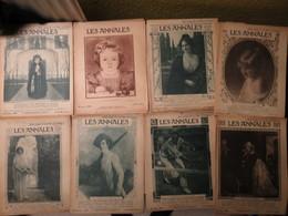 """RARE Et Beau Lot 36 Magazines """" Les Annales """" 1920 A 1928  - Avec Pièce De Théâtre - MISE A PRIX 35€ ! Bonne Enchères - Newspapers"""