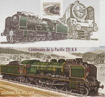 Bloc Souvenir 68 Train Pacific 231KS Neuf Avec Carton - Blocs Souvenir