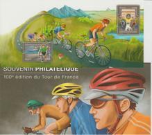 Bloc Souvenir 81 Centenaire Tour De France Neuf Avec Carton - Blocs Souvenir