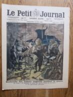 Supplément Du Petit Journal 1920:Scaphandrier ( Trèsors Engloutis Pendant La Guerre) + SPA - Journaux - Quotidiens