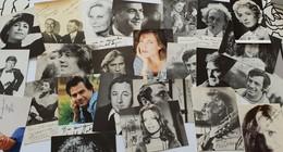 LOT DE 30 PHOTOS  EN FAC-SIMILES - Autographs