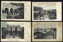 Conjunto De 4 Postais CALDAS Da RAINHA Edição De DIAS & PARAMOS - (Leiria) PORTUGAL 1900s - Leiria