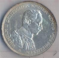 Deutsches Reich Jägernr: 113 1914 A Sehr Schön Silber 1914 3 Mark Preussen Wilhelm II. (9157977 - 2, 3 & 5 Mark Silber