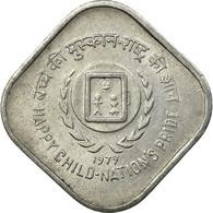 Monnaie, INDIA-REPUBLIC, 5 Paise, 1979, TTB, Aluminium, KM:22 - Inde