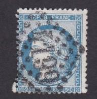 1871 - 5 Centimes CERES Type III - YT 60 C - Oblitération Losange Grands Chiffres - 6671 - 1871-1875 Cérès