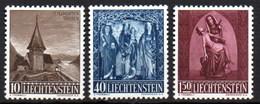 Liechtenstein 0324/326 * Charnela. 1957 - Liechtenstein