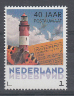 Nederland 2013 Persoonlijke Zegel Postautomaat Vuurtoren, Vlinder Vogels, Lighthouse, Bird And Butterfly - Faros