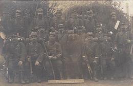 GUERRE 1914 1918 GROUPE DE MILITAIRES CARTE PHOTO - Guerre 1914-18