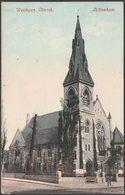 Wesleyan Church, Tottenham, London, 1906 - Blum & Degen Postcard - London Suburbs