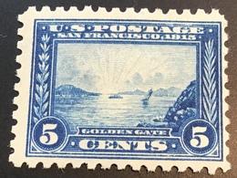 USA 1913 PANAMA-PACIFIC EXHIBITION 5c  Neuf ** TB Yvert 197B (US Scott 403 MNH VF - Ungebraucht