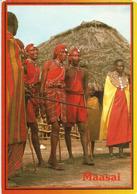 Kenyan Maasai People.  Postcard From Kenya, Mint, Uncirculated (Sapra Studio) - Afrique