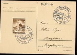 P0749 - DR Postkarte : Gebraucht Mit Sonderstempel Meistern Kärnten 1941 - Germany