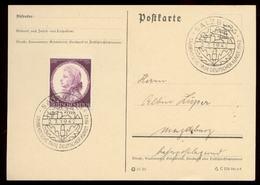 P0744 - DR Postkarte : Gebraucht Mit Sonderstempel Studenten Tage Der Deutscher Kunst Salzburg 1942 - Germany