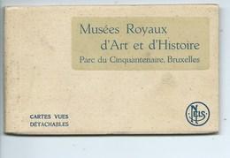 Bruxelles Musées Royaux D'Art Et D'Histoire Parc Du Cinquantenaire ( Carnet Complet De 12 Cartes ) - Museums