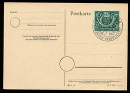 P0742 - DR Postkarte : Gebraucht Mit Sonderstempel Kriegs Hilfswerk Berlin 1944 - Briefe U. Dokumente
