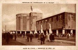 CENTENAIRE DE L'INDEPENDANCE DE LA BELGIQUE . EXPOSITION DE LIEGE 1930 - Luik