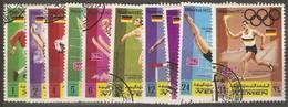 Yemen (Kingdom)  - 1969 Olympic Athletes CTO - Yemen