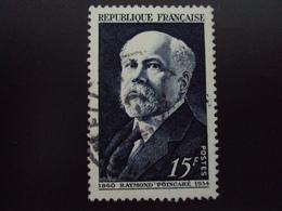 """A Partir De 1950 - Timbre Oblitéré N° 864  """"   Poincaré   """"   0.15    Photo 2 - France"""