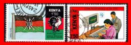 KENIA (AFRICA)  SELLOS AÑO 1963-90 - Kenia (1963-...)