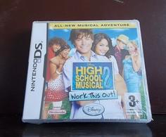 NintendoDS Game * High School Musical 2 * New * Still With Original Plastic - Elektronische Spelletjes