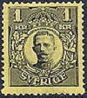 Zweden 1810-14  1kr Gustaf V WM Kroon PF-MNH - Neufs