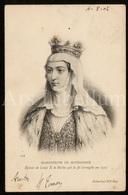 Postcard / CP / Postkaart / Marguerite De Bourgogne / Reine De Navarre Et De France / Roi Louis X Le Hutin / 1902 - Historische Persönlichkeiten