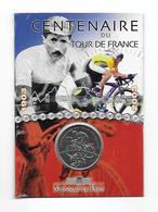 Centenaire Du Tour De France - Monnaie De Paris - Pièce Argent 900°/oo 13g Diamètre: 30mm. Dans Son Emballage - Très Bon - France